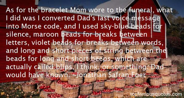 Quotes About Short Beads