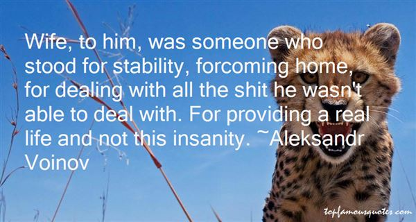 Quotes About Stability In Life