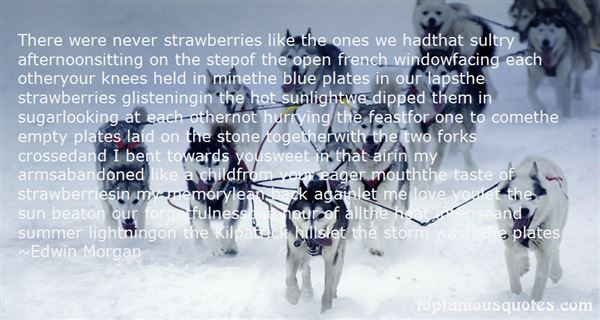 Quotes About Strawberries And Love