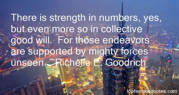 Quotes About Strength In Numbers