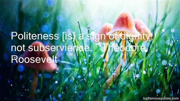 Quotes About Subservience