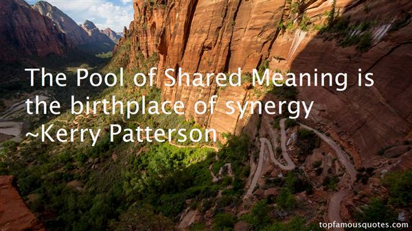 Quotes About Synergy