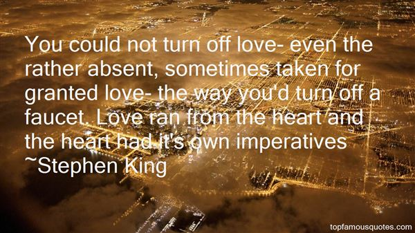 Quotes About Taken For Granted Love