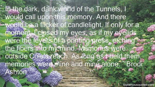 Quotes About Tunne