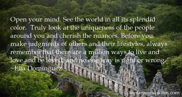 Quotes About Uniqueness Of Life