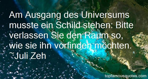 Quotes About Universum