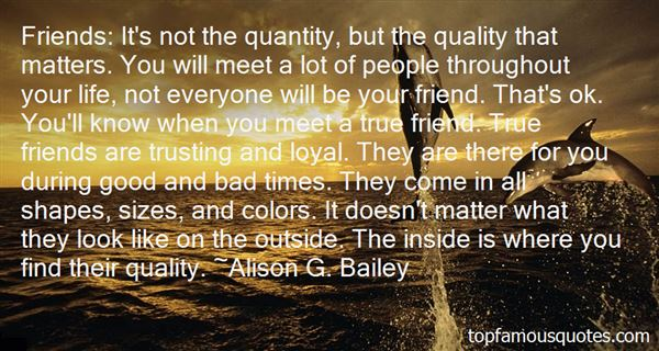 Quotes About Quantity Of Friends