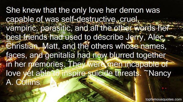 Quotes About Vampiri