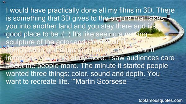 Quotes About 3d Art