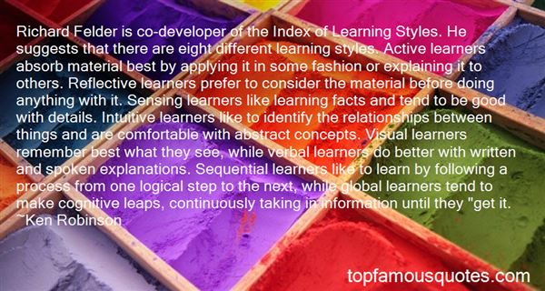 Quotes About Active Learning