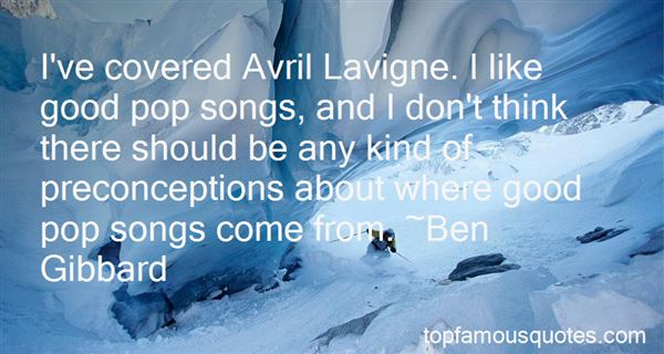 Quotes About Avril Lavigne