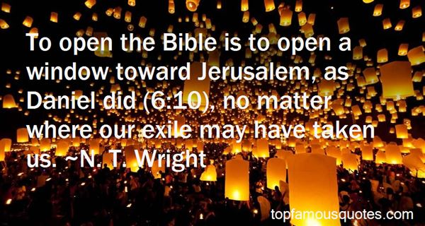Quotes About Bible Exile