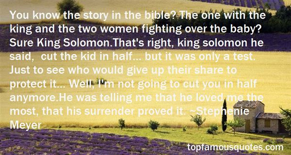 Quotes About Bible King Solomon