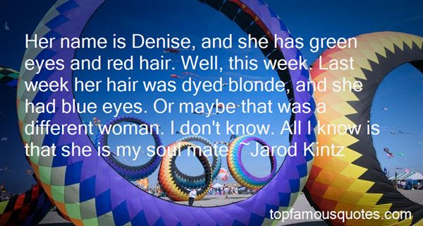 Quotes About Blonde Woman