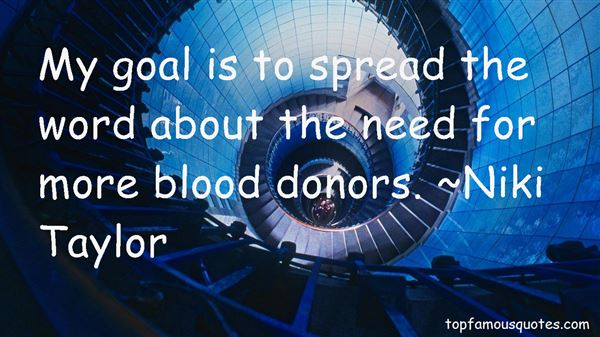 Quotes About Blood Donor