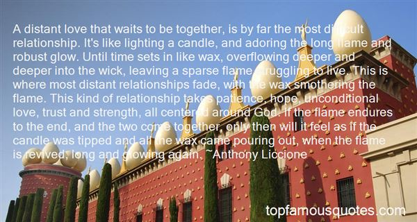 Quotes About Candle Wax