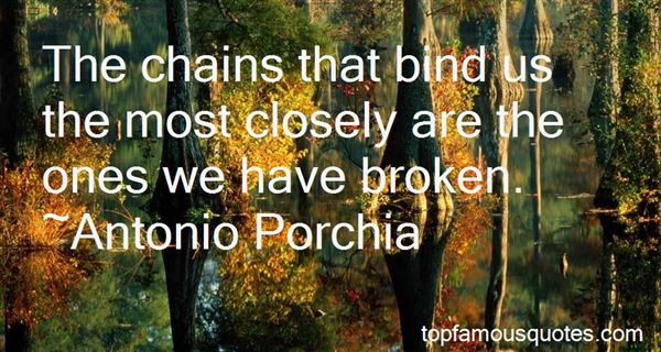 Quotes About Chains That Bind