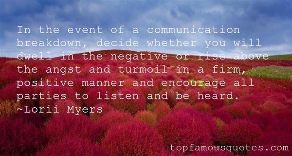 Quotes About Communication Breakdown