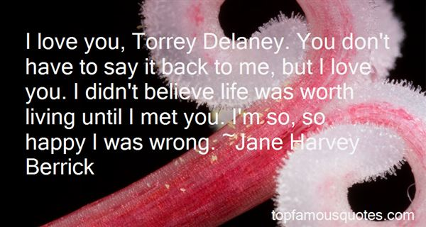 Quotes About Delaney
