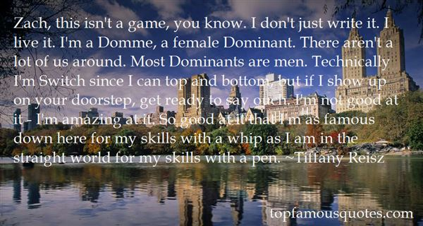 Quotes About Domme