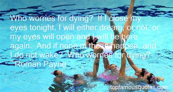 Quotes About Dying Tonight