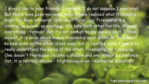 Quotes About Easy Friendship