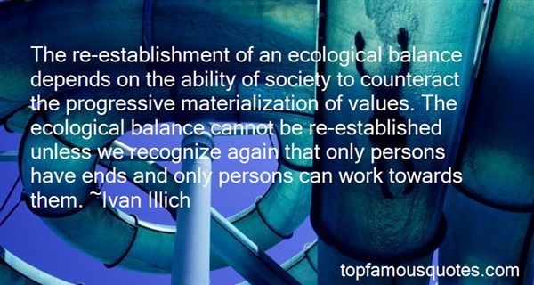 Quotes About Ecological Balance
