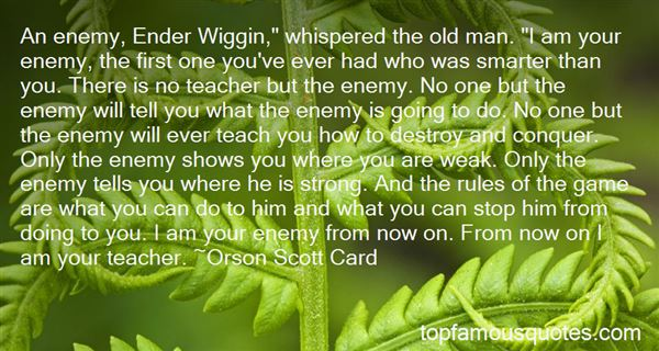 Quotes About Ender Wiggin