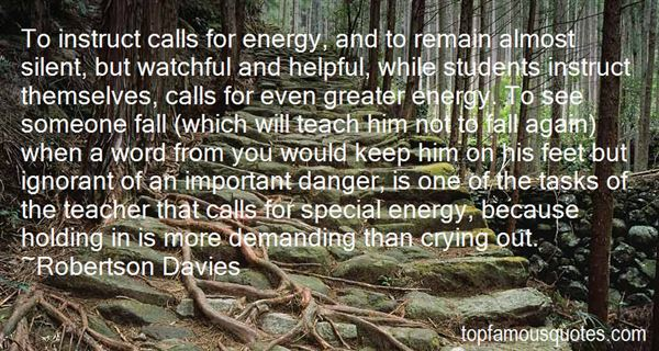 Quotes About Energy Use