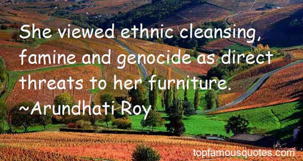 Quotes About Ethnic Cleansing