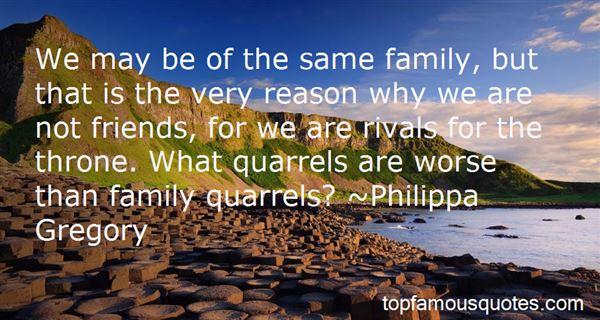 Quotes About Family Quarrels