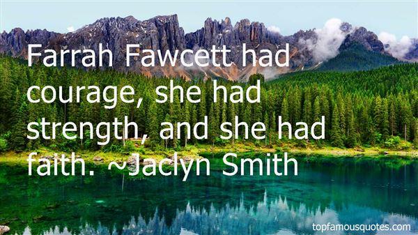 Quotes About Farrah Fawcett