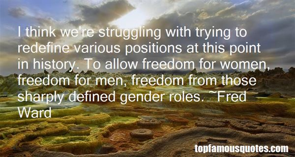 Quotes About Gender Roles