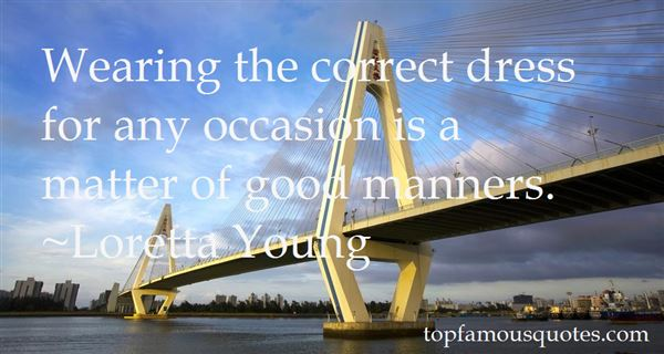 Quotes About Good Manners