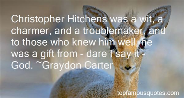 Quotes About Hitchens