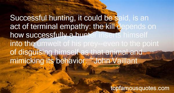 Quotes About Hunting Prey