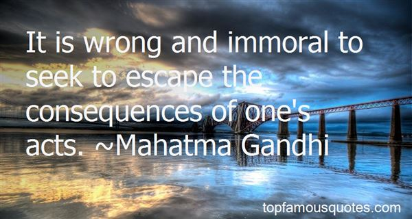 Quotes About Immoral Acts