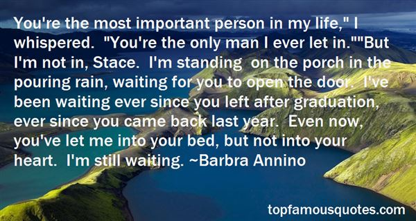 Quotes About Important Person In My Life