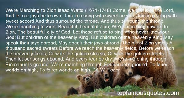 Quotes About Isaac Watts