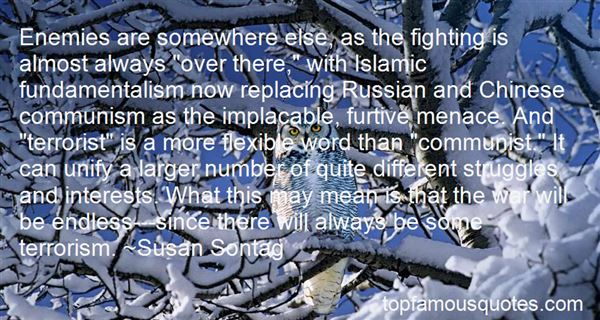 Quotes About Islam And Terrorism