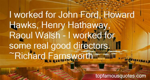 Quotes About John Ford