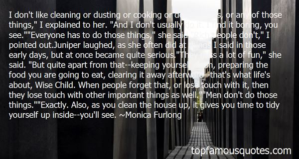 Quotes About Keeping A Clean House