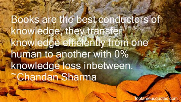 Quotes About Knowledge Transfer