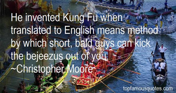 Quotes About Kung Fu