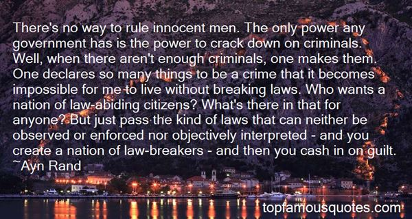 Quotes About Law Abiding