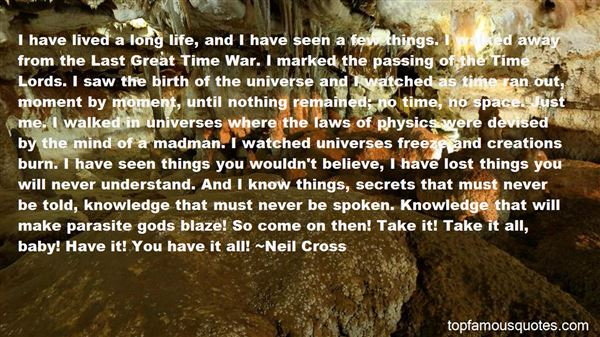 Quotes About Laws Of The Universe