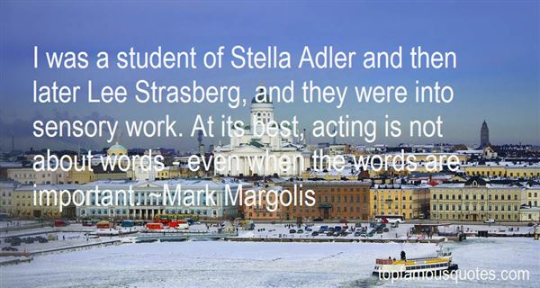 Quotes About Lee Strasberg