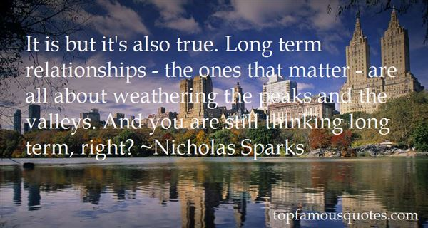Quotes About Long Term Relationship