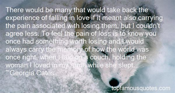 Quotes About Loss Of Love