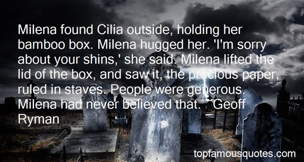 Quotes About Milena